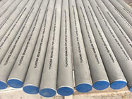 Long Stainless Steel Seamless Pipe High Hardness ASTM A312 ASME SA312