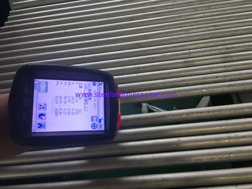 Stainless Steel Seamless Pipe,BOILER/HEAT EXCHANGER TUBE,ASTM A213/ A213M, ASME SA213,TP310S, 25.4*2.11MM