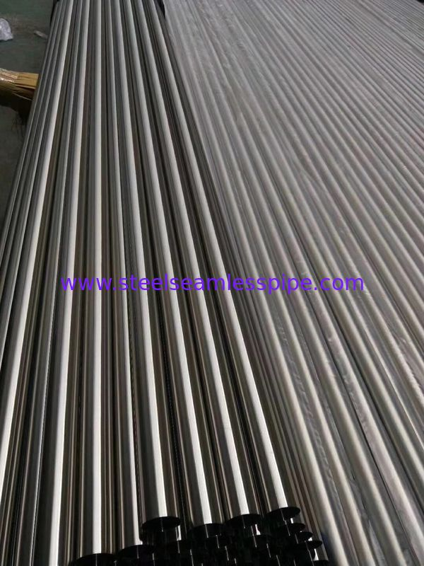 Bright Annealed Stainless Steel Tubes ASTM A213 / ASME SA213-10a TP304/ TP304H / TP304L for heat exchanger