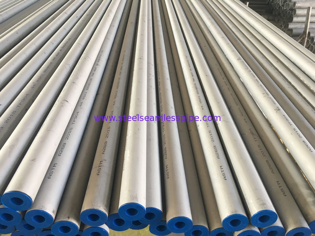 "Stainless Steel Seamless Tube ASTM A312 TP304 , A213 TP304 , A269 TP304 , Pickled And Annealed , Plain End ,1 3/4"" 1.65M"