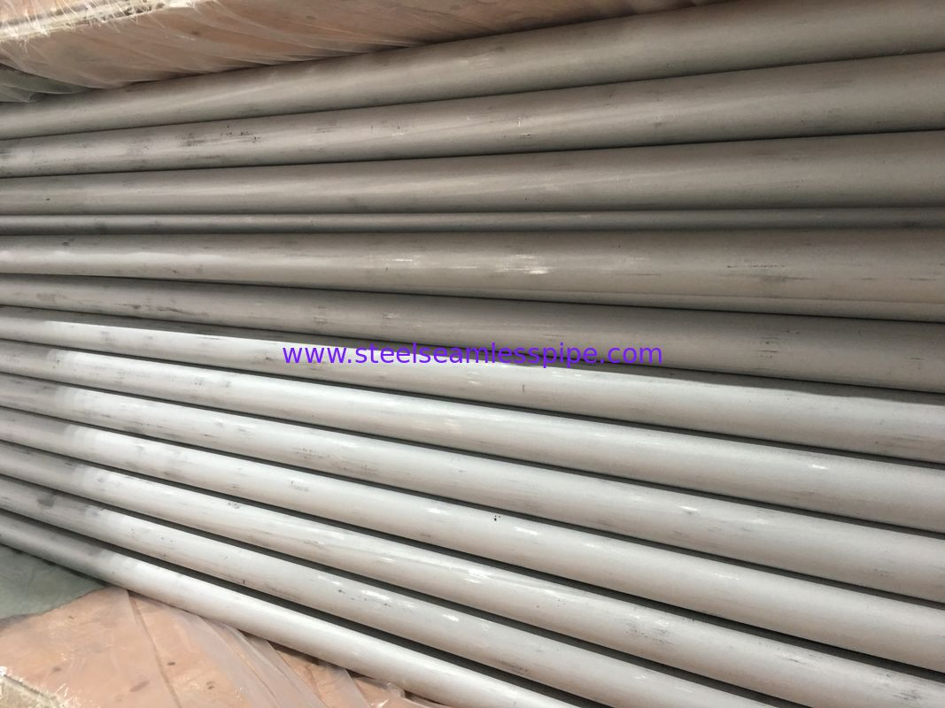 Solid Annealed Stainless Steel Metal Pipe / Round Stainless Steel Pipe ASTM A213