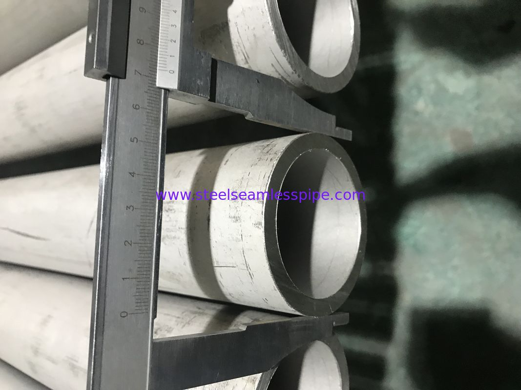 ET HT UT​ Stainless Steel Seamless Pipe NACE 0175 / 0103 Corrosion Resistance