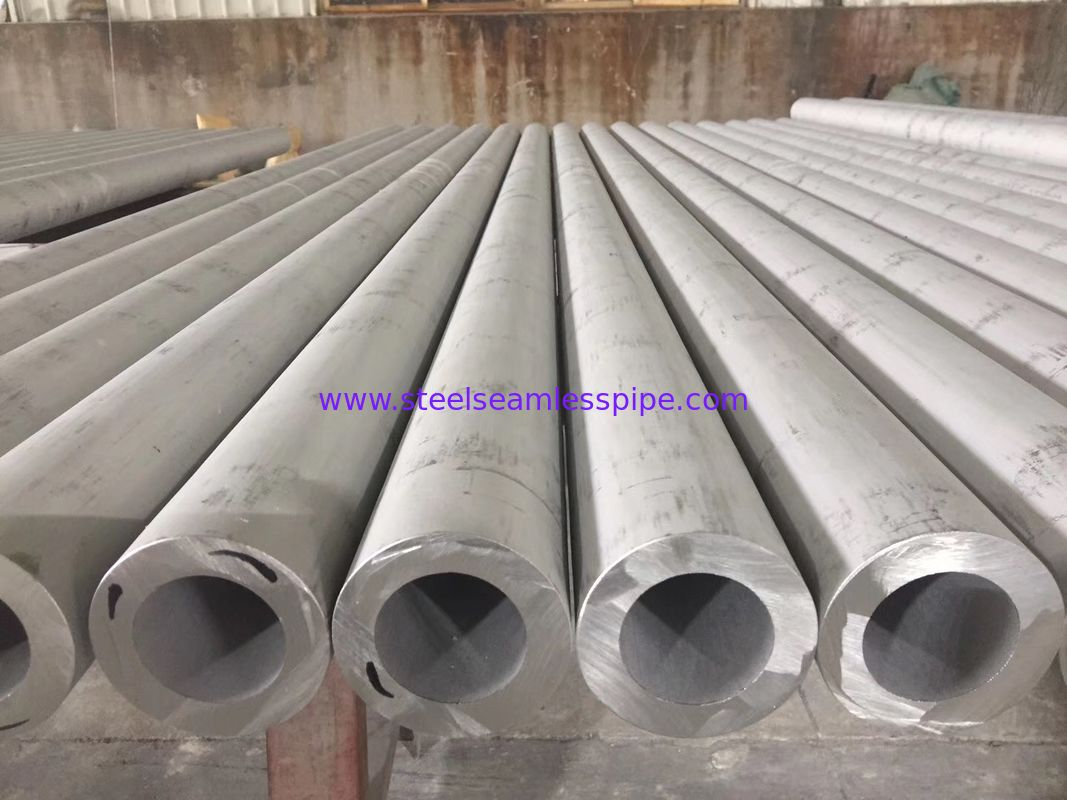 ASTM A312 TP316 / 316L Stainless Steel Seamless Pipe Pickled Annealed ABS Certification