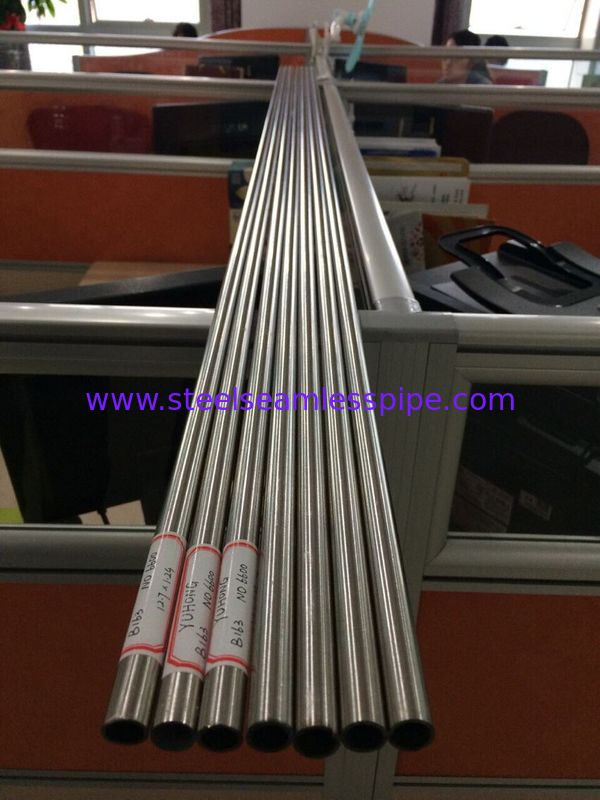 Solid Annealed Inconel Tubing , Inconel 600 Seamless Pipe B163 / B516 / B167 / B517,Alloy 600 tube