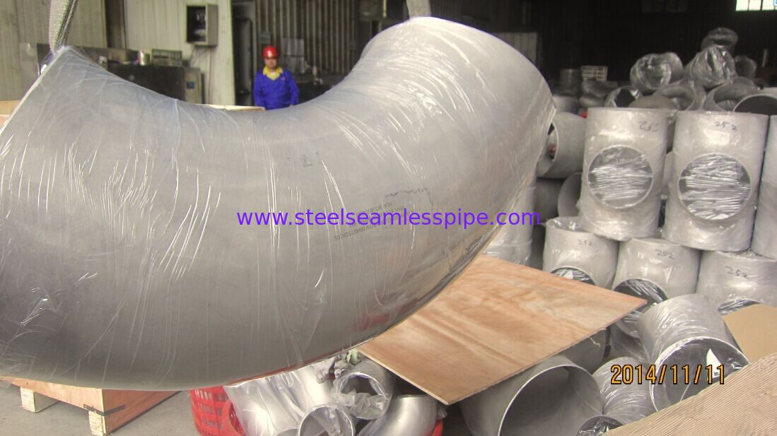 ASTM A815 S31803 90° Elbow Duplex Stainless Steel Fittings Forged Steel Fittings Stub End
